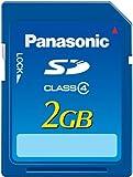 Panasonic SDメモリーカード 2GB RP-SDM02GL1A