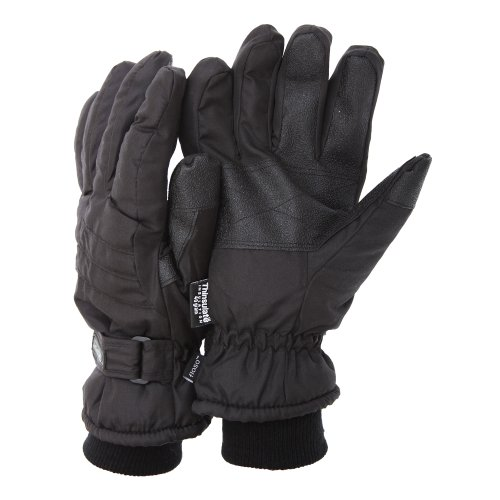 floso-mens-thinsulate-padded-thermal-gloves-with-palm-grip-3m-40g-m-l-black