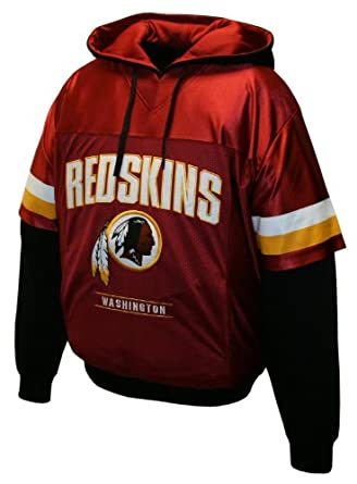 NFL Mens Washington Redskins Drive Pullover Jersey Hoodie by MTC Marketing, Inc