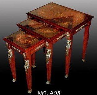 Mesa de centro Luis XV barroco rococó MoTa0408