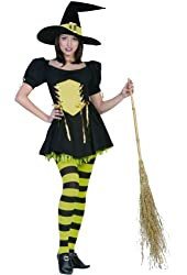 The Emerald Witch Costume - X-Small - Dress Size 2-4