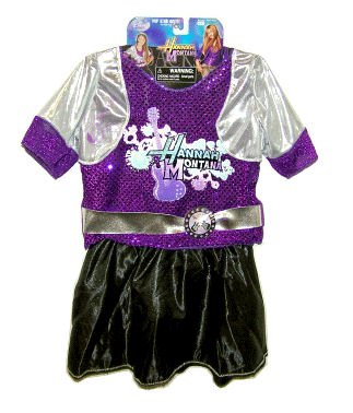 Disney Hannah Montana Pop Star Fantasy Play Costume (Size 4-6X) - 1
