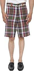 Reevolution Men's Cotton Shorts (MCHH510601_XL, Multicolor, X-Large)