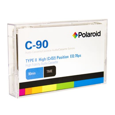 Buy Discount Polaroid High Bias C-90 Minute Audio Cassette Tape 10pk