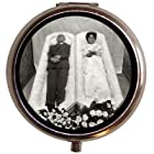 Post Mortem Postmortem Coffin Couple Pill box Pill Case