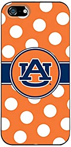 Coveroo Case for iPhone 5/5s - Retail Packaging - Auburn University Dots