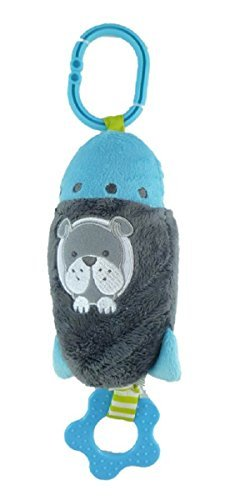 Carter's Just One You Chime & Chew Rocket Ship with Dog (Carters Space Dogs compare prices)