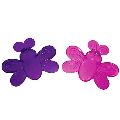 Sassy Water-Filled Teethers 2Pk (Girl) from Sassy