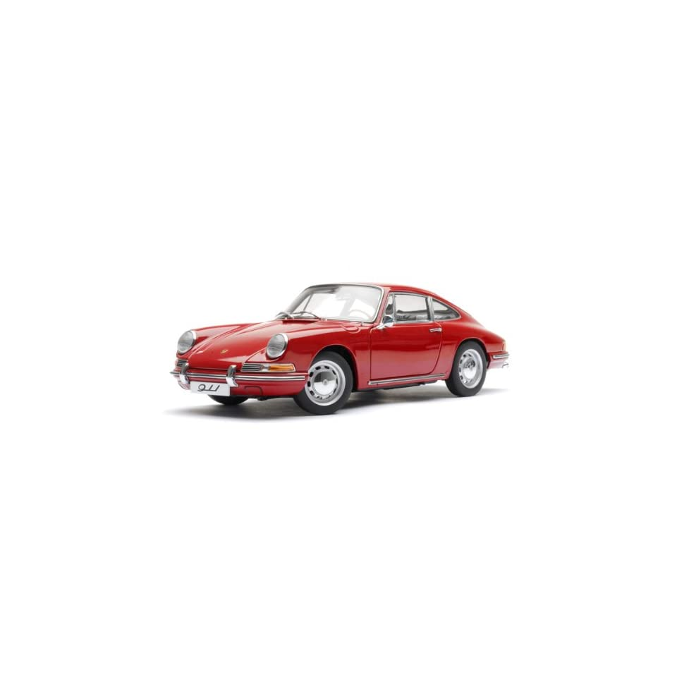 1964 Porsche 911 Red Diecast Car Model 118 Autoart