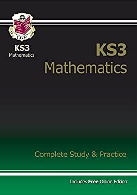 KS3 Maths Complete Study & Practice (with online edition): Complete Revision and Practice