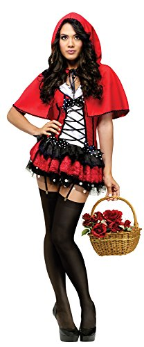 Red Hot Riding Hood Adult Costume Size:Xtra Small