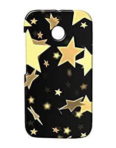 Pickpattern Back Cover for Motorola Moto E/Moto E Dual Sim