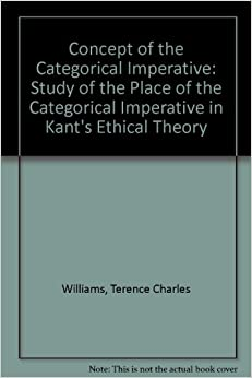 an analysis of the categorical imperative under kantian philosophy Kant's ethics so far in our  law, which kant called the categorical imperative according to kant,  explains why kantian ethics yields quite different results.