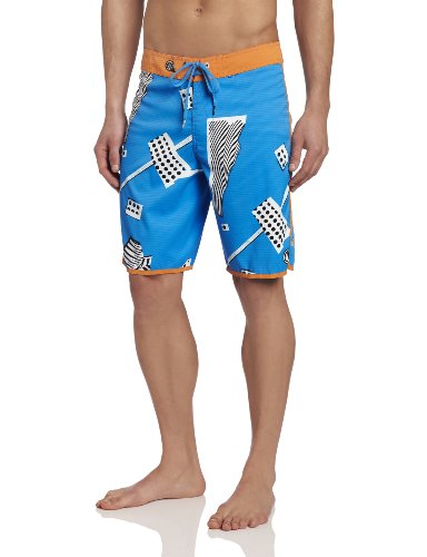 Volcom - Mens Sir Dots Alot Boardshorts, Size: 29, Color: Atlantic