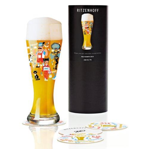 Ritzenhoff - 1020174 - Verre À Bière Blanche , Verre De Collection - Niels Kunath 2014