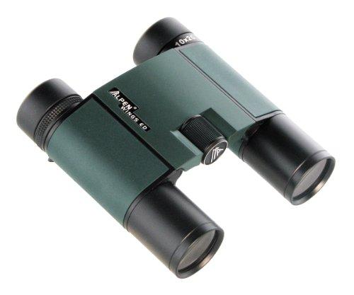Alpen Optics Wings 10X25 Ed Hd Waterproof Roof Prism Compact Binocular