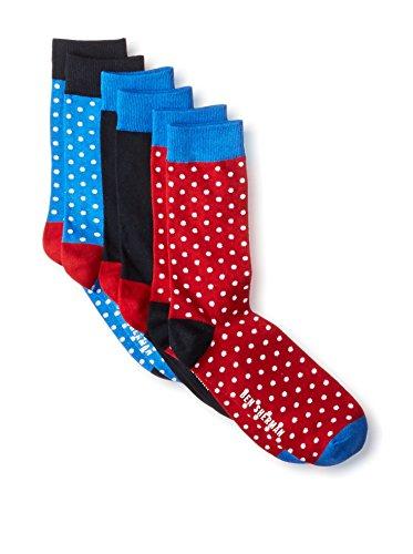 Ben Sherman Men's Colorblock Socks - 3 Pack