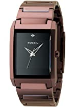 Fossil Watches Sale - Fossil Men's Diamond Bronze Tone Quartz Watch #FS4360