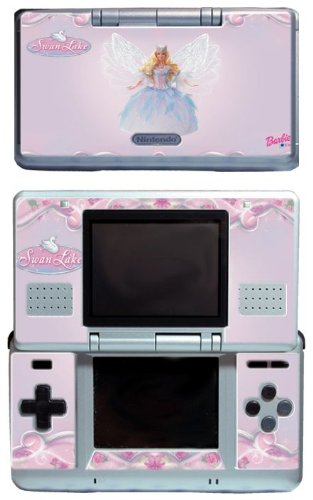 Barbie Doll Dress Up Games Vinyl Decal Cover Skin Protector 1 for Nintendo DS