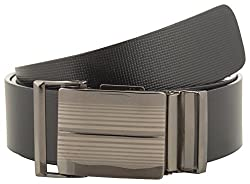 Jackblack Men's Leather Belt (SEVP012, Black, 34)