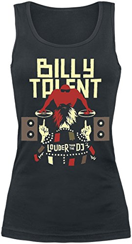 Billy Talent Louder Than The DJ Top donna nero M