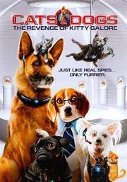 Warner Home Video Mc-cats & Dogs 2-revenge Of Kitty Galore [dvd/movie Cash]
