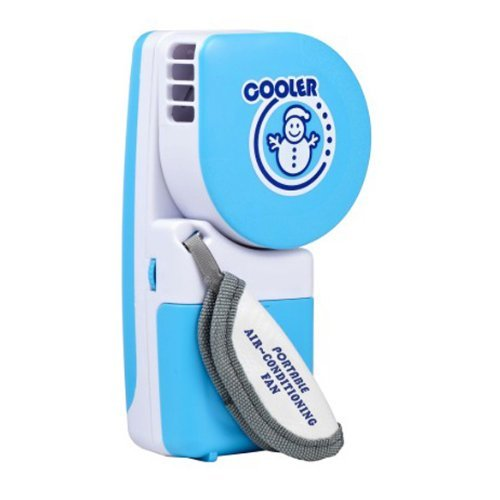 TOOGOO(R) Portable Small Fan & Mini-Air Conditioner Handy Cooler Speed Adjustable