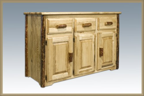 Buy Low Price Montana woodworks Glacier Country Sideboard_Glacier Country (MWGCSB)