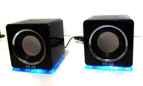 USB Lautsprecher Boxen von LinQ in schwarz (DS)