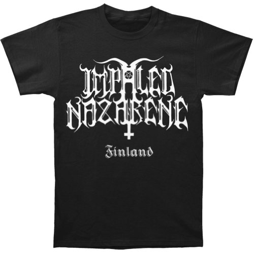 Impaled Nazarene Men'S Pathological Hunger For Violence T-Shirt Small Black