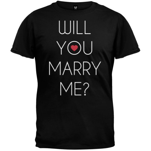 Valentine's Day - Will You Marry Me? T-Shirt