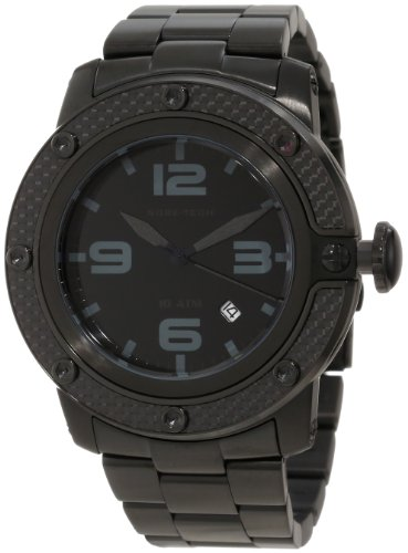 Glam Rock GR33008 - Reloj de pulsera hombre, acero inoxidable, color negro