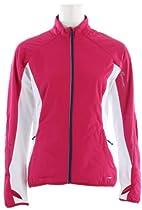 Salomon Superfast II Softshell Cross Country Ski Jacket Pink/White Womens Sz S