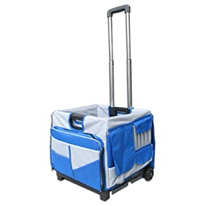 Olympia Tools 85-506 Pack-N-Roll 48 Pocket Foldable Cart
