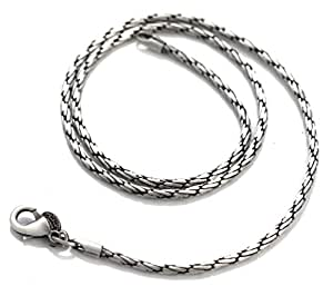 Bico Cyclone 16 inch Chain Necklace (F97 16in) Tribal Skate Jewelry