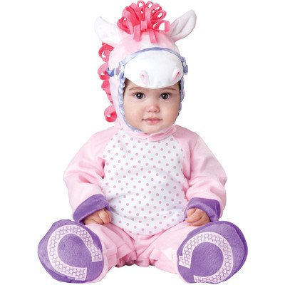 Incharacter Baby Girl'S Pretty Pony, Pink/White, Small front-950555