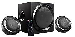 Intex IT-2202SUF-OS 2.1 Channel Multimedia Speakers (Black)