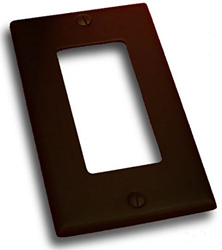 "Residential Essentials 10815VB Single Rocker Switch Plate, 4.5"" x 2.75"", Venetian Bronze - 1"