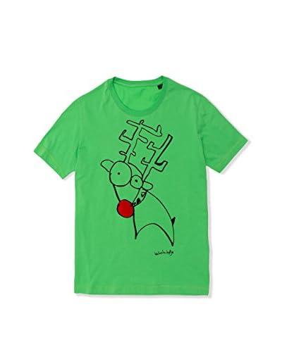 BICHOBICHEJO T-Shirt Manica Corta  [Verde]