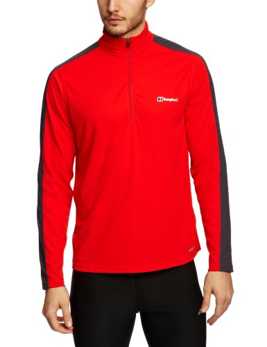Berghaus Relaxed Technical T-Shirt  Long  Sleeve Zip Neck