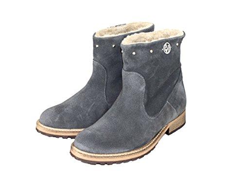 Armani Jeans scarpe Shoe stivaletti winterstiefeletten Z5532grigio, grigio (Grau), 41 EU