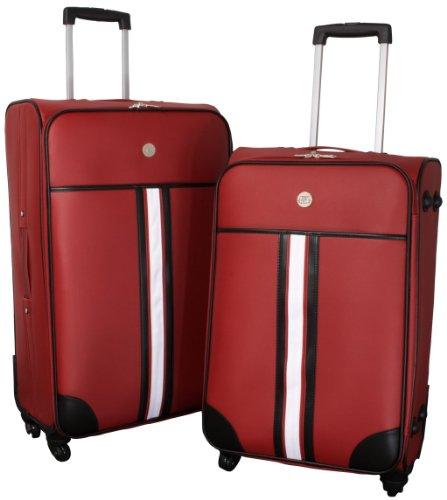 Kofferset 2tlg Amsterdam rot