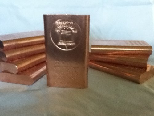 1 Pound (Flat Style) .999 Copper Bullion Bars @ Great Price