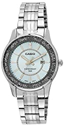 Casio Enticer Analog Blue Dial Womens Watch - LTP-1358D-2AVDF (A804)