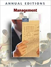 Annual s Management 17 by Fred Maidment