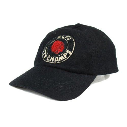 (ラグビー)RUGBY ラルフローレン キャップ [RLFC CITY CHAMPS] ブラック ウール キャップ CAP S ブラック