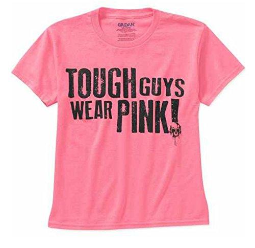 gildan-boys-tough-guys-wear-pink-short-sleeve-graphic-tee-large-10-12