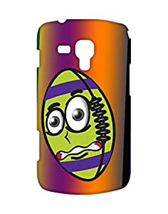 Mobifry Back Case Cover For Samsung Galaxy S Duos S7562 (Printed Design)