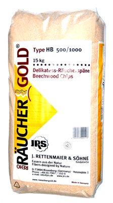 Räucherspäne (0,5-1,0mm) 15kg Räuchergold