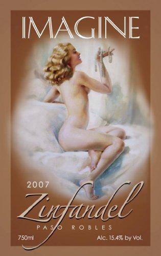 2007 Imagine Wine Pearl Paso Robles Zinfandel 750 Ml